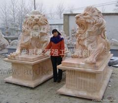 供应现货石狮子雕塑