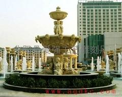 歐式石雕噴泉