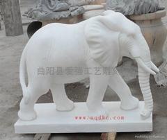 漢白玉大象
