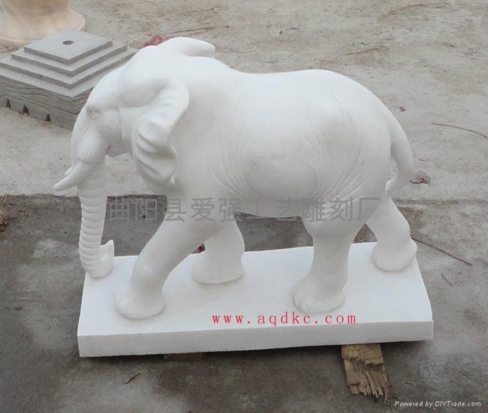 漢白玉大象 2
