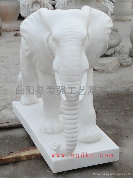 漢白玉大象 3