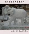 漢白玉大象 4