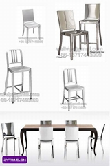 Stainless chair,navy chair,dining chair