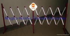 Folding barrier ,  aluminum barrier