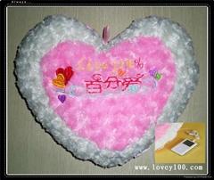百分爱(love100%)音乐抱枕