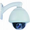 HIgh Speed Dome PTZ Network Camera 4