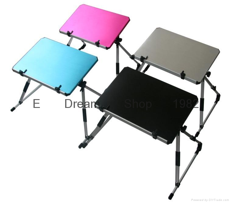 Laptop Notebook Desk Stand Bed Table For Apple Dell Hp