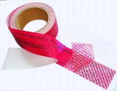 tamper evident void tape