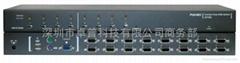 16口USB+PS/2混合KVM切換器