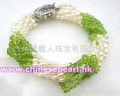 珍珠手链, 橄榄石手链