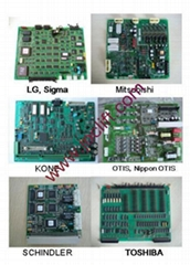 ELEVATOR PRINT CIRCUIT BOARD (PCB)SCHINDLER, LG,MITSUBISHI,KONE,OTIS, TOSHIBA