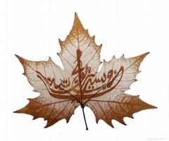 leaf carving 0111