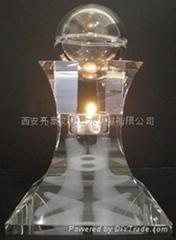 水晶內彫香薰精油塔