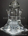 水晶內彫香薰精油塔 2