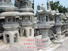 石燈,石雕燈,仿古石燈,寺廟石燈,寺廟景觀石燈,景觀石雕燈