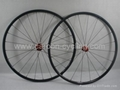 Full tubular carbon wheelset 20mm,