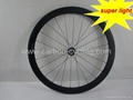 super light carbon bicycle wheelset,