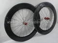carbon bicycle tubular wheelset, FSC88-T