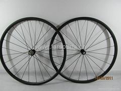 super light 700c Tubular carbon bike wheelsets,FSC24-TM