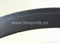 super light full carbon fiber wheel road