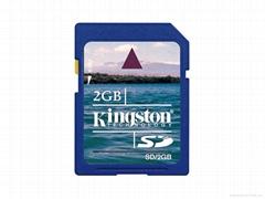 New 2GB Secure Digital Memory SD Card 2 GB