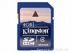 New 4GB Secure Digital Memory SD Card 4 GB