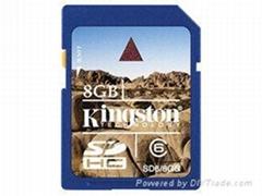 金士顿8G SD卡