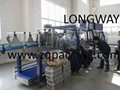 overwrapping machine---with auto tray