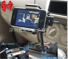 iphone ipod配件车载FM发射器