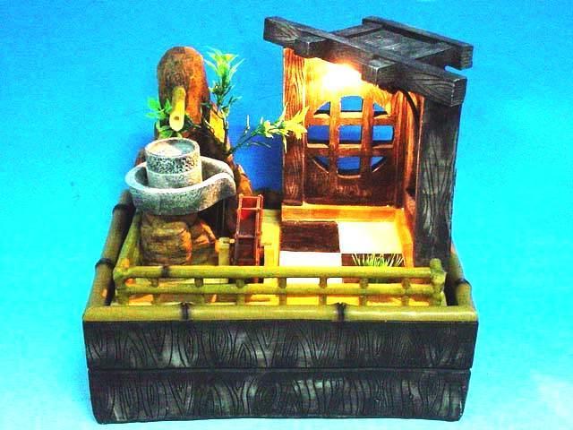 Bamboo style fountain 1