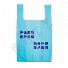 无纺布背心袋(环保购物袋)