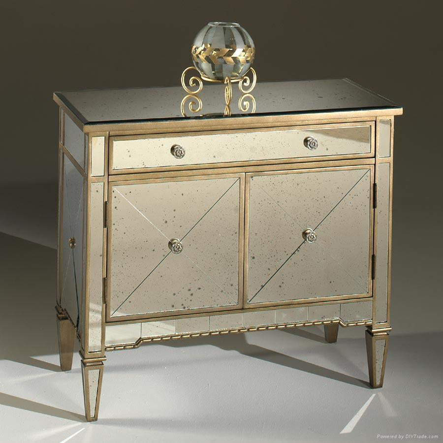 ... Bathroom Vanity w antique mirror panel 2 - Bathroom Vanity W Antique Mirror Panel (China) - Bathroom