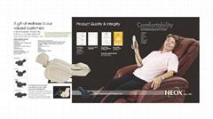 NE-8200 Inversion Therapy Super Deluxe Massage Chair