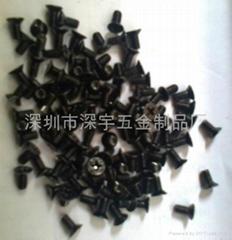 不鏽鋼黑色螺絲