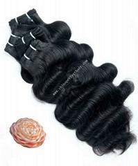 remy virgin brazilian hair weaving