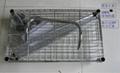 厨房置物架储物整理架金属层架酒店火锅架美容架多功能小推车DIY-114 3