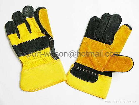 Double palm,Reinforced palm gloves 1