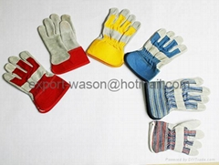 Gun pattern work gloves