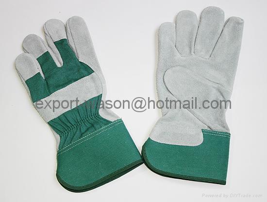 Gun pattern work gloves 1