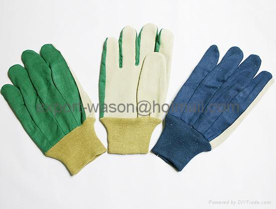 Knitted wrist gloves 1