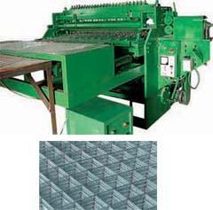 建筑鋼絲自動排焊機