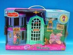 Villa,Doll Playset,play house,Children toys