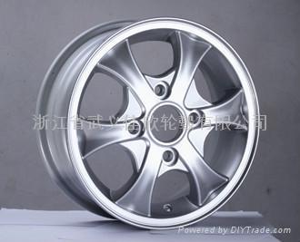 汽車鋁合金輪轂 1