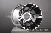 高尔夫球车铝轮 1