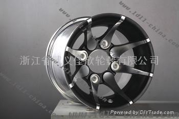 高尔夫球车铝轮 2