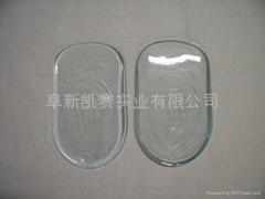 Clear heel cup