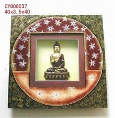 Buddha shadow box