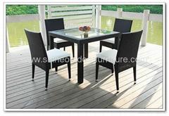 Garden Set - Stackable Dining Set C556