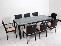 Outdoor Furniture -Rattan Dining Set C512