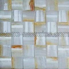 White Onyx mosaic 143